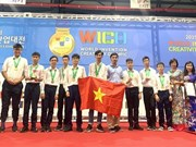Hanoi students win gold medals at int'l invention contest