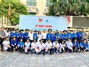 Hanoi's youths launch volunteer activities in Laos