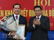 Nguyen Dinh Khang elected as new VGCL President