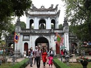 Tourists to Hanoi in July up 9.5 percent