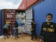 Indonesia continues to return imported waste
