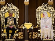 Sultan of Pahang state enthroned as Malaysia's new king