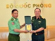 Vietnam, Myanmar look to boost defence ties