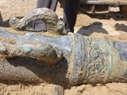 Old cannon found in Da Nang originates from Netherlands: scientists
