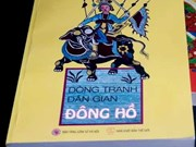 Colouring book features Dong Ho folk paintings
