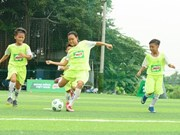 Eight young VN footballers play in 1st Milo Champions Cup in Spain