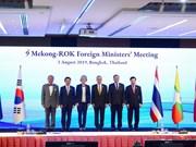 Mekong, RoK foreign ministers gather at Bangkok meeting
