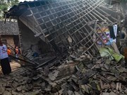 One killed, four injured in Indonesia's latest quake