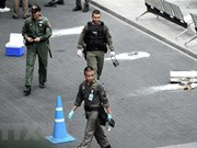 Thailand hunts down over 10 suspects in bomb attacks