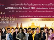 Thailand's PRD hosts ASEAN Friendship Concert 2019