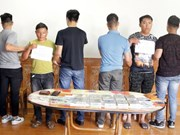 Lao Cai's police arrest two heroin smugglers