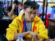 Vietnamese GM comes 10th at int'l chess tournament in China