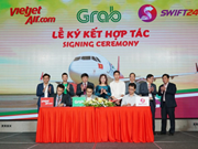 Vietjet teams up with Swift247 and Grab