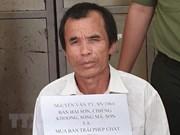 Son La: Man arrested for keeping drugs