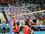 Vietnam wins second prize at VTV int'l women's volleyball tourney