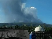 Indonesia bans activities around Volcano Merapi