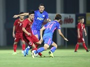 Vietnam's U22 team defeat Kitchee SC in friendly match