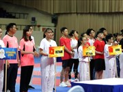 Asian Open Taekwondo Championship opens in HCM City