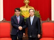 Party official receives ILO Country Director