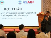 USAID-funded project to support people with disabilities