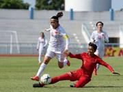 Vietnam's women's team cruise into AFF semi-final
