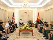 Deputy Chief of the General Staff receives US Senator