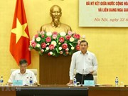 Seminar looks into progress of Vietnam-Russia int'l treaties