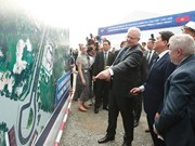 Australian PM visits F1 circuit project in Hanoi