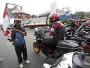 Indonesian man on 700km backward walk to oppose deforestation