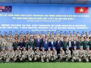 Vietnamese, Australian PMs visit peace-keeping hospital
