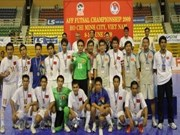 Vietnam comes in second at regional futsal champs