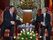 NA Chairman receives Mongolian ambassador