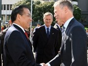 Party leader Nong Duc Manh visits Auckland