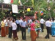 Khmer people cheer Sene Dolta Festival