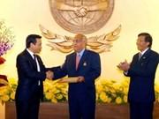 Algerian diplomat receives friendship decoration