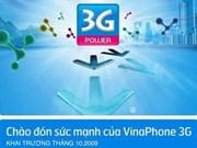 Vinaphone, first to launch 3G in Vietnam