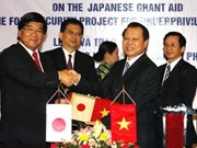 Japan aids food security project