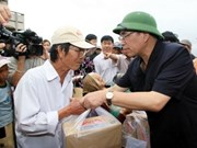 Party leader visits flood-hit Binh Dinh province