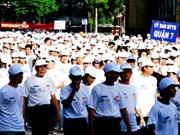 City walk raises 6.13 billion VND for poor