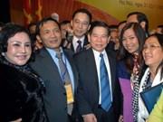 President stresses importance of overseas Vietnamese affairs