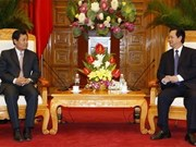 PM Dung receives Lao Bank Governor