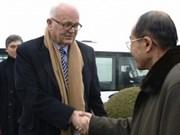 US envoy arrives in Pyongyang for denuclearisation talks