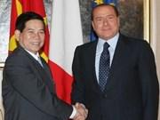 Vietnam, Italy ink tourism, development agreements
