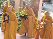 King's attainment of Nirvana commemorated