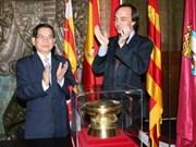 State President leaves Spain for Slovakia