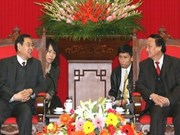 Vietnam, China communist parties strengthen ties