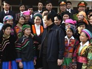 PM on visit to check development in Ha Giang