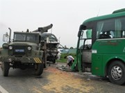 Traffic accident death toll reaches 300 during Tet