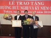 Japanese economic experts honoured