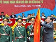 State President honours Ba To guerrillas